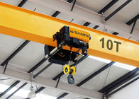 Dual Speed Electric Wire Rope Hoist 3 T 5 T 10 T 15 T 20 T For Single Girder Crane
